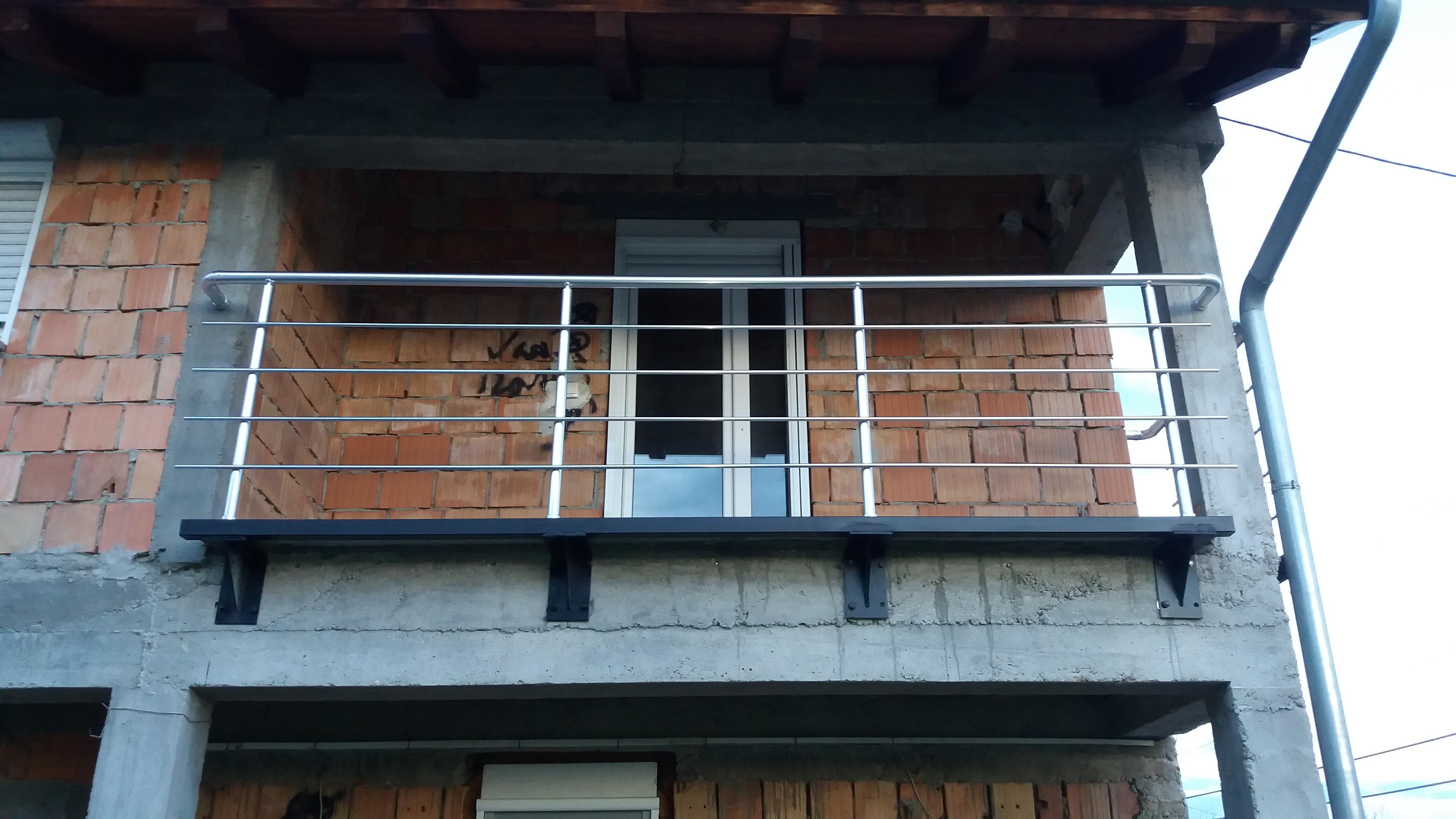 Čelična konstrukcija za aluminijumsku ogradu