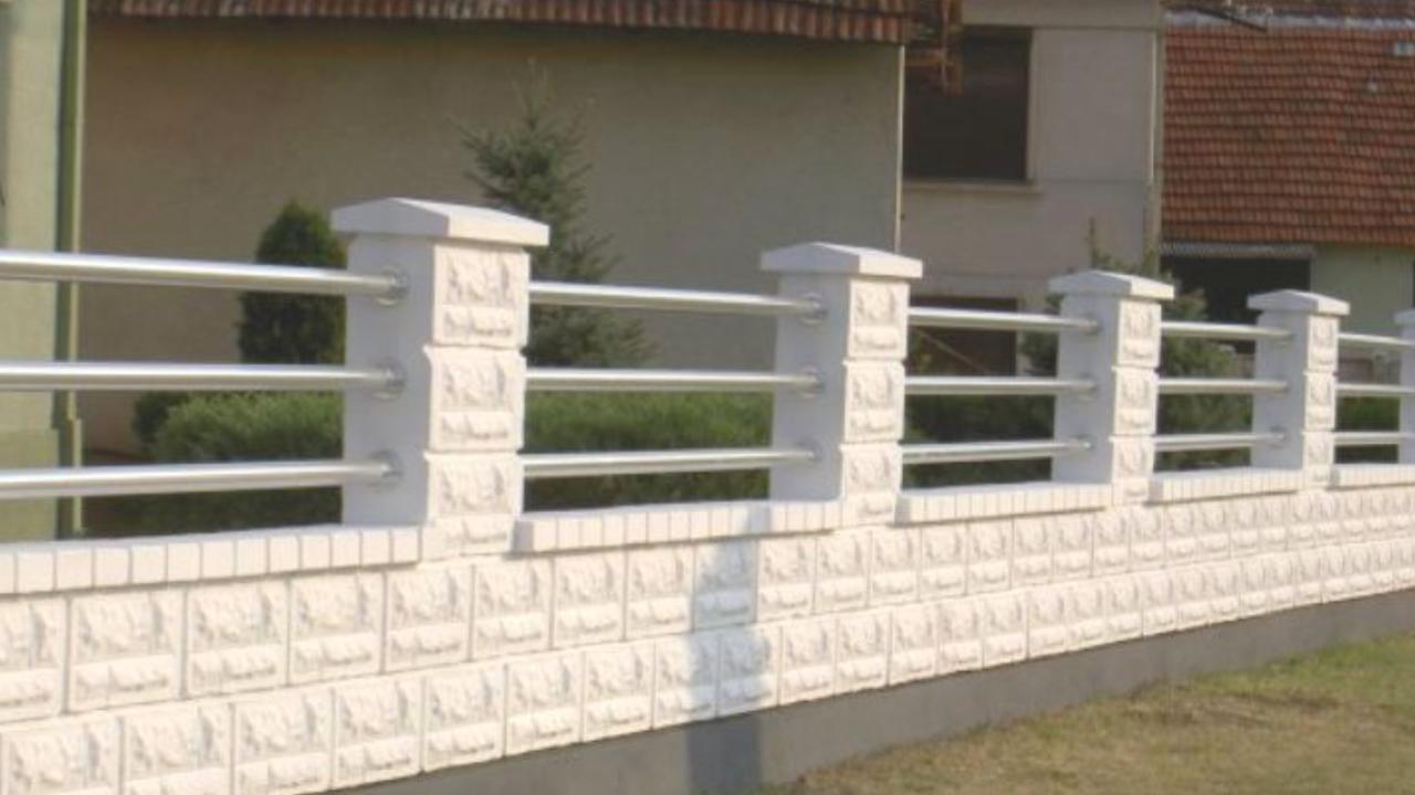 Aluminijumske ograde za dvorište