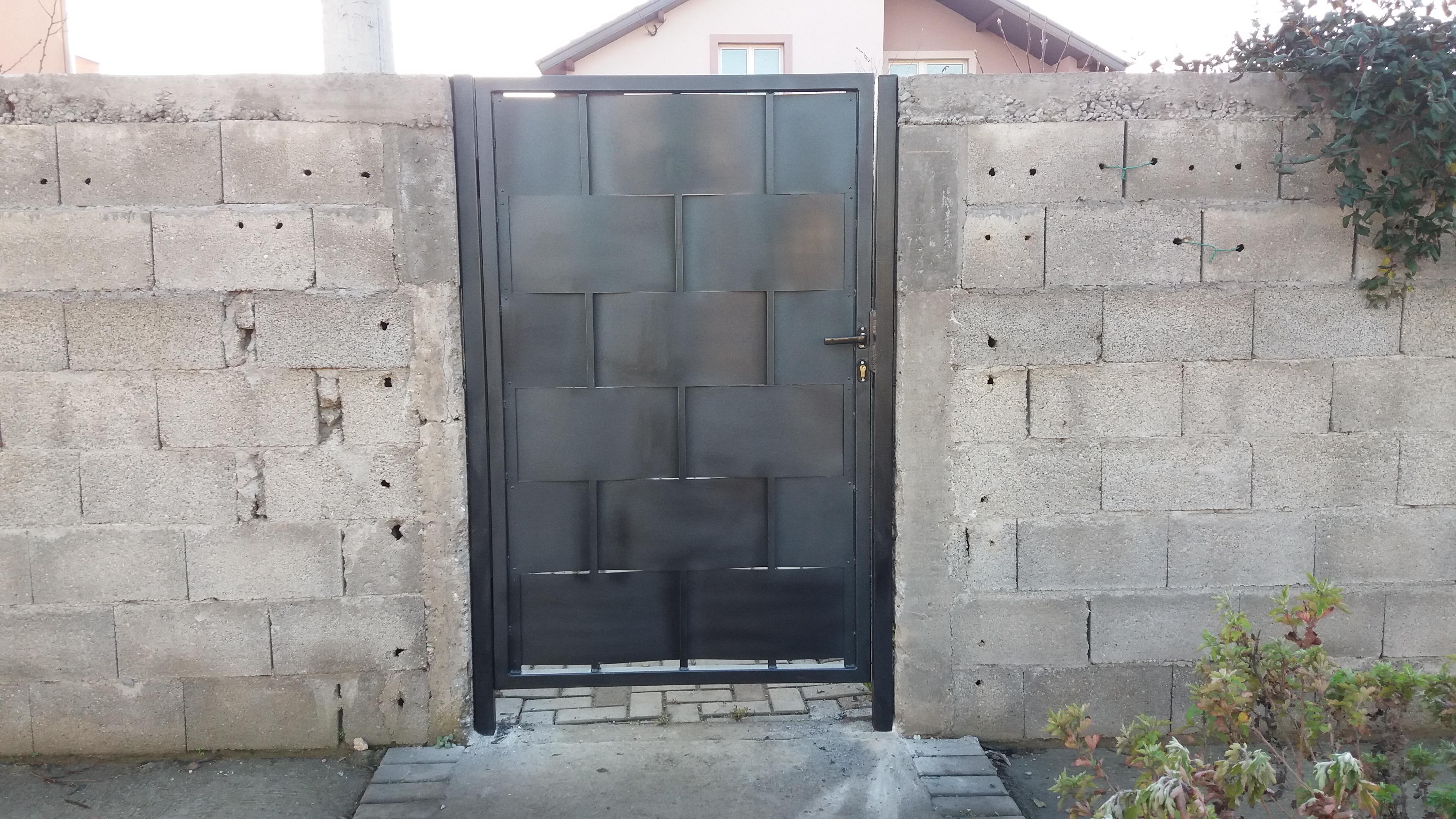 Izrada vrata za dvorište