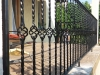 Kovana ograda na terasi