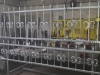 Kovana ograda posle cinkovanja