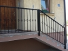 Ograda od kovanog gvoždja na stepeništu