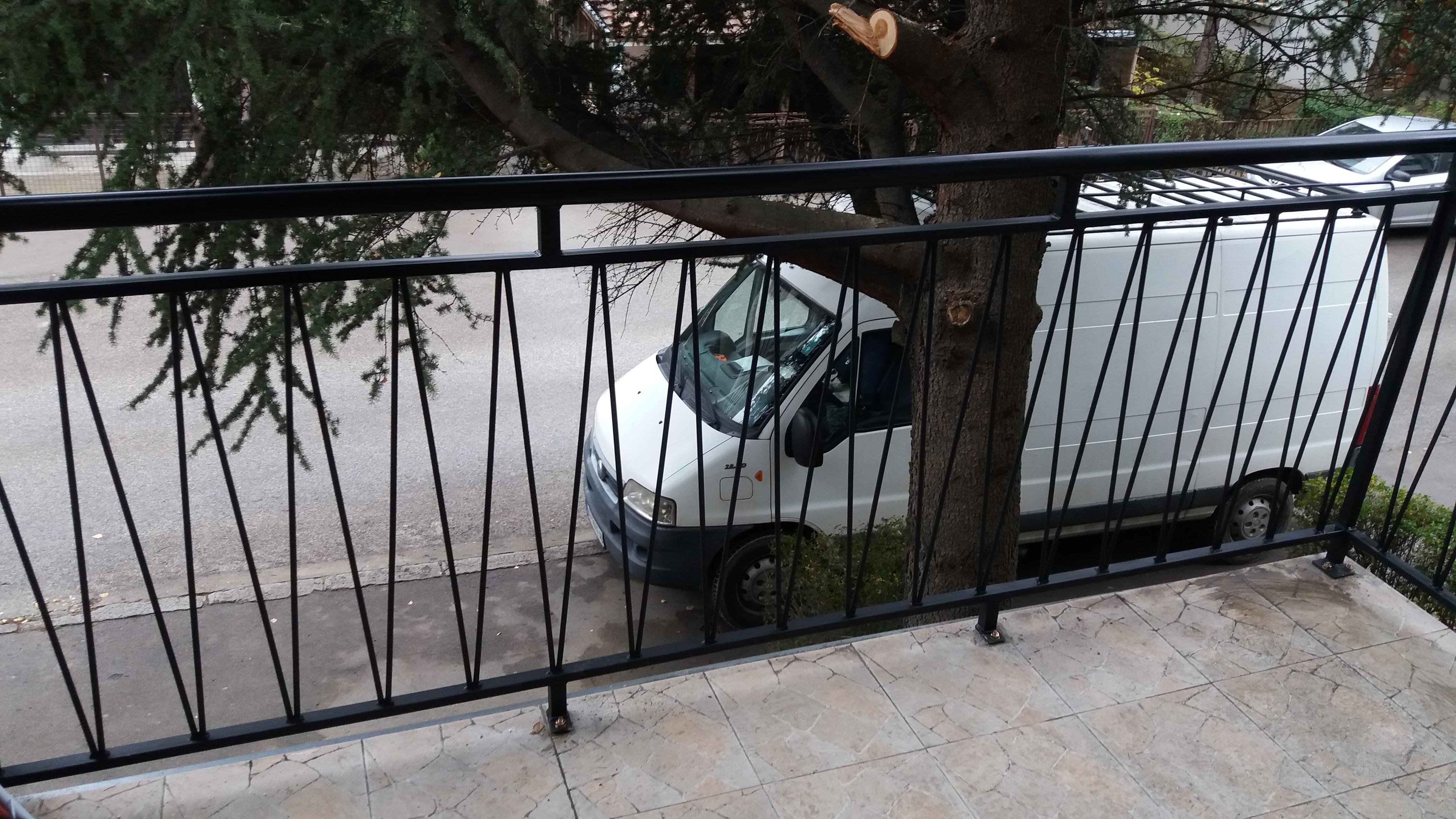 Izrada metalnih ograda za terase Žarkovo, Beograd