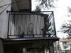 Metalni gelenderi na terasi Žarkovo, Beograd