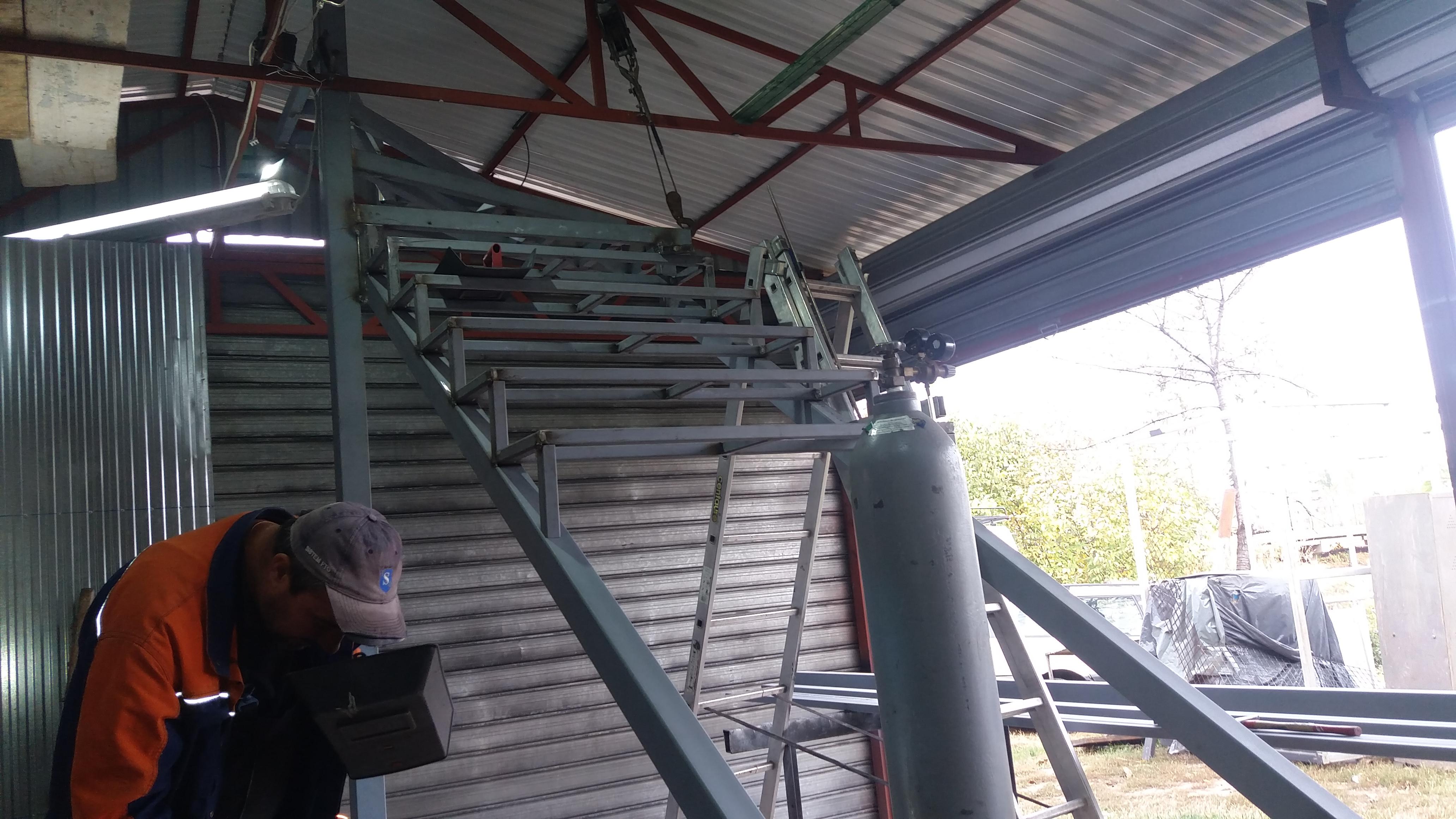 Izrada čelične konstrukcije za stepenice 8