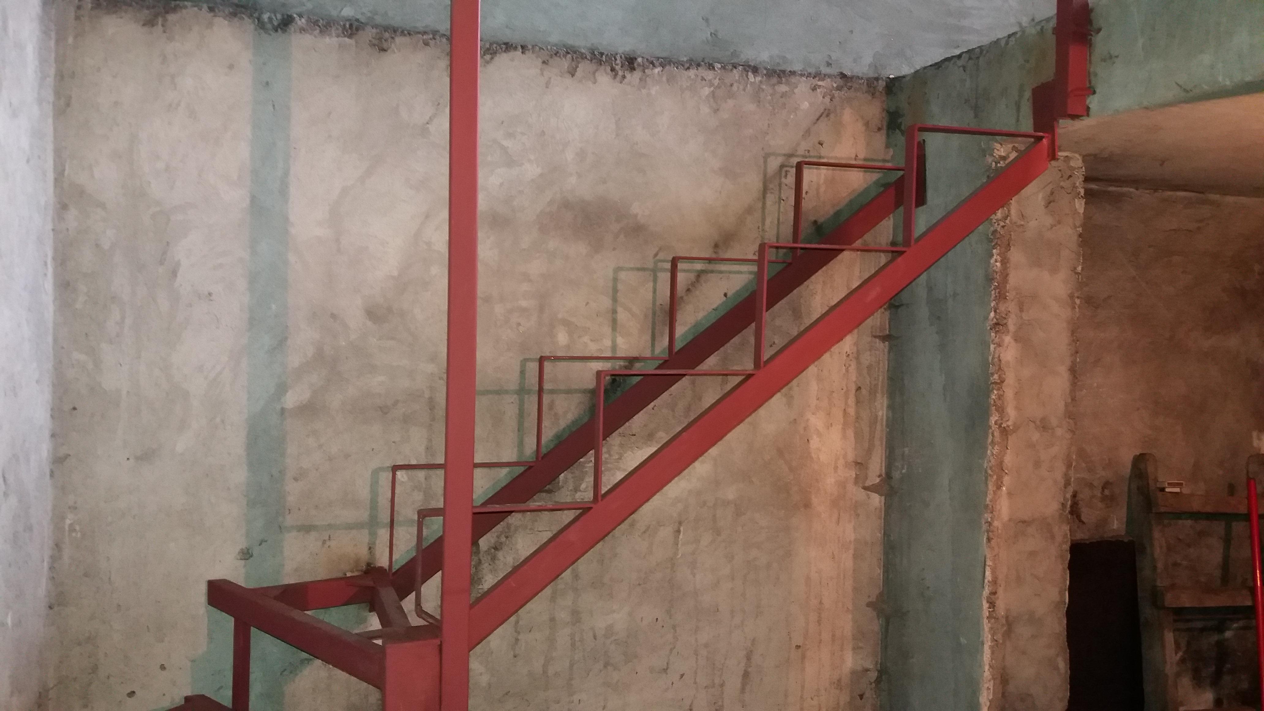 Izrada konstukcije za stepenice