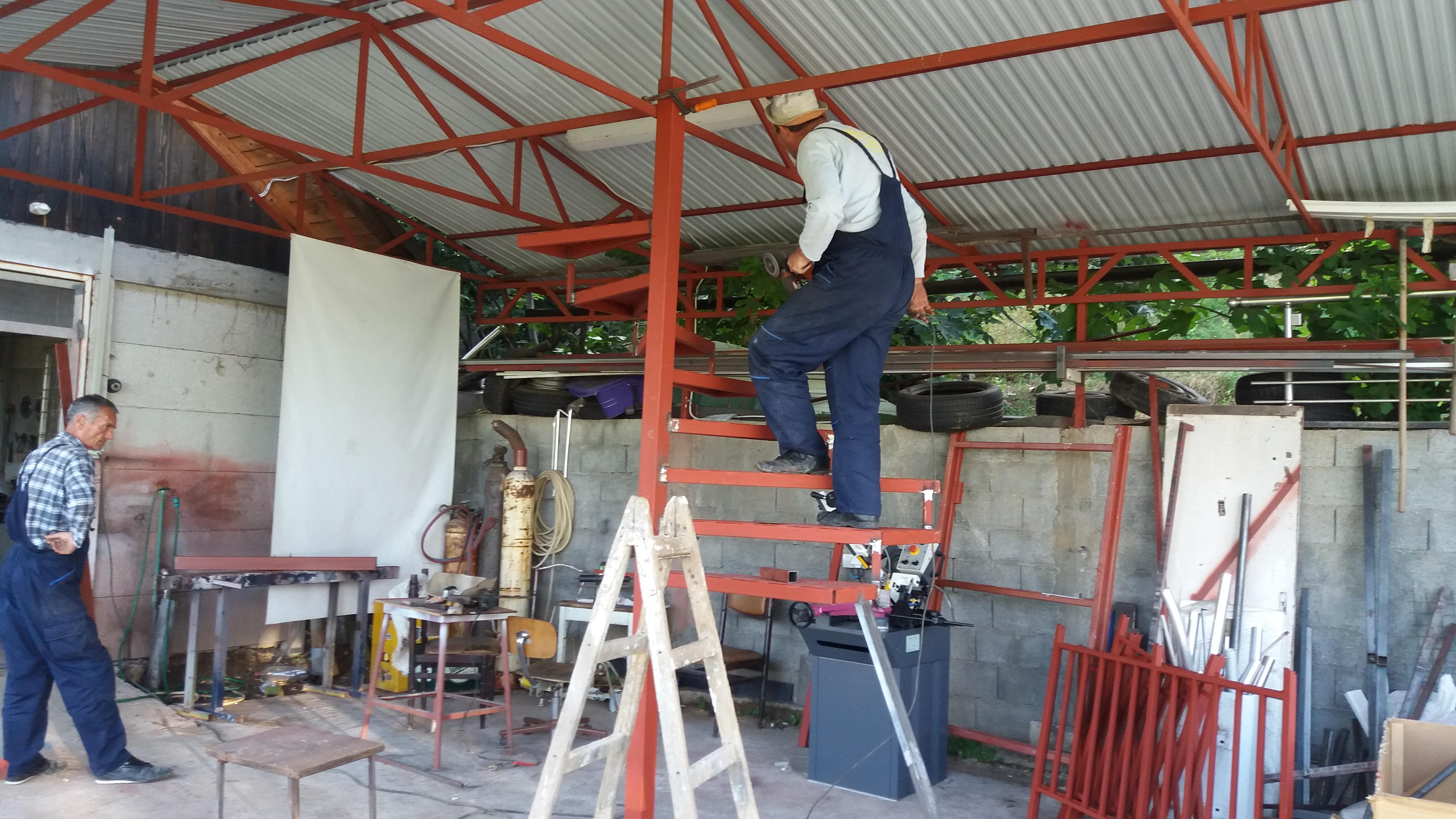 Izrada kružnih stepenica