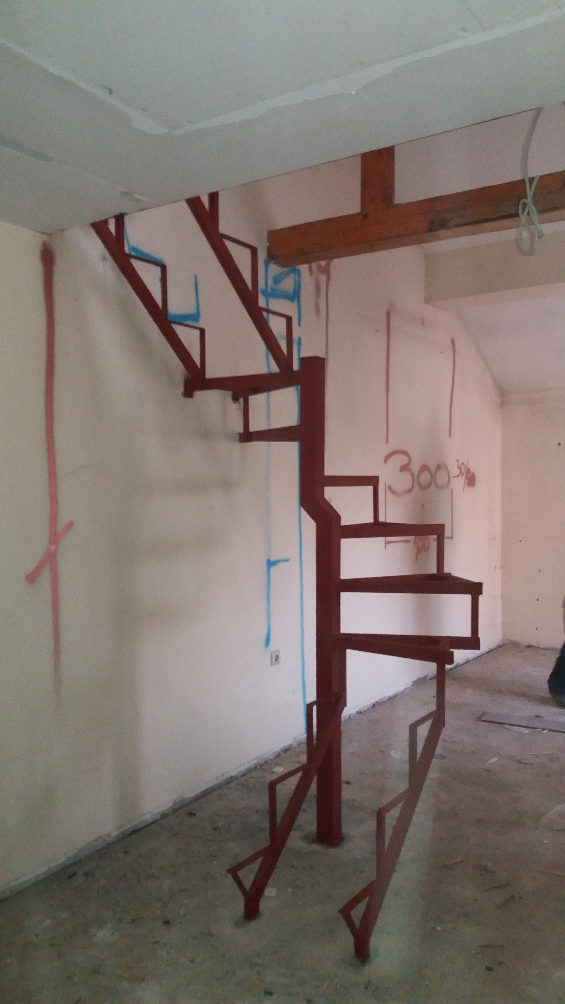 Spiralne stepenice Zemun