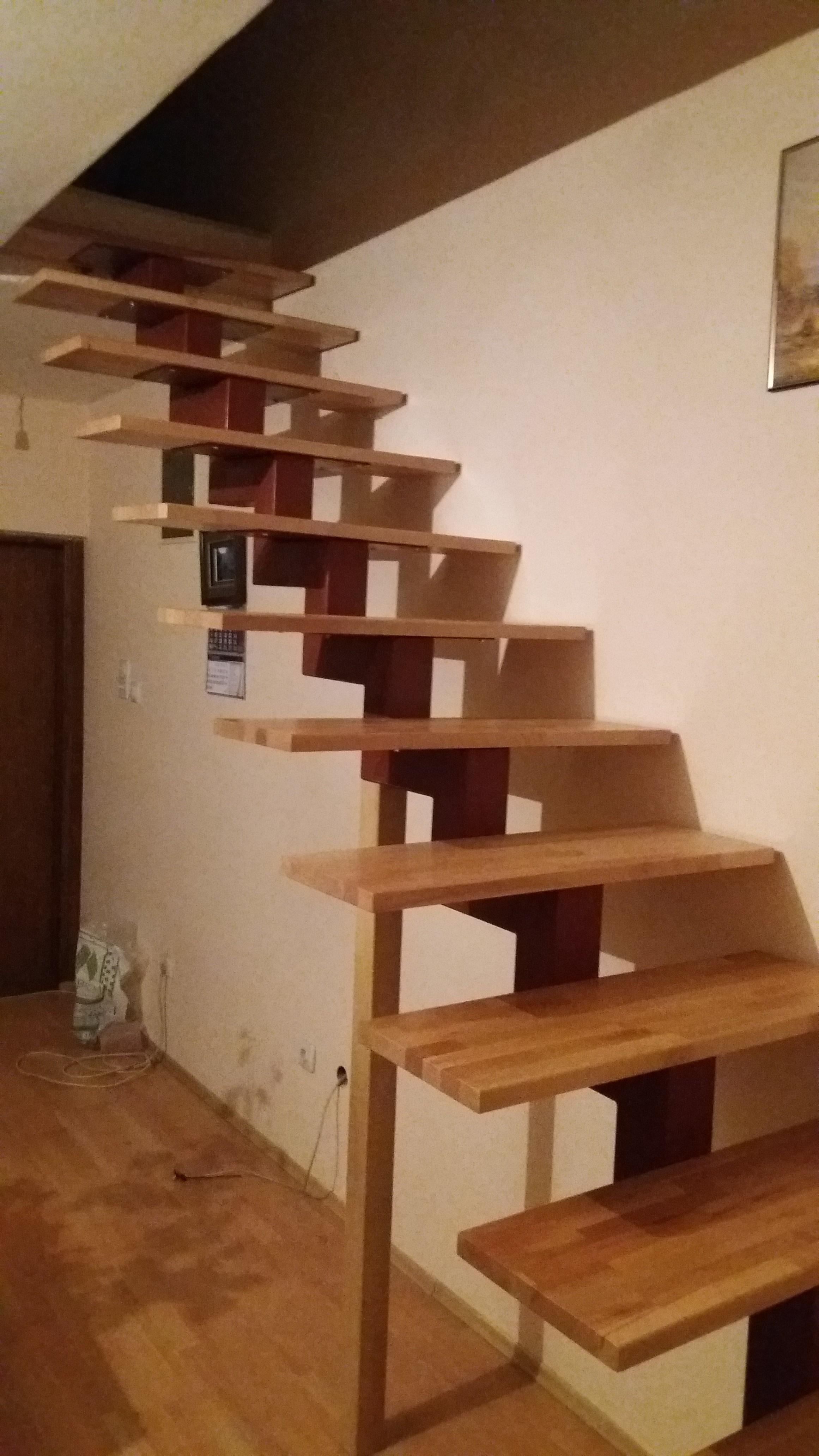 Stepenice drvena gazišta