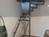 Spiralne stepenice Železnik