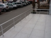 Aluminijumska ograda na platou