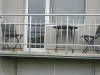 Aluminijumska ograda na terasi Bogatić