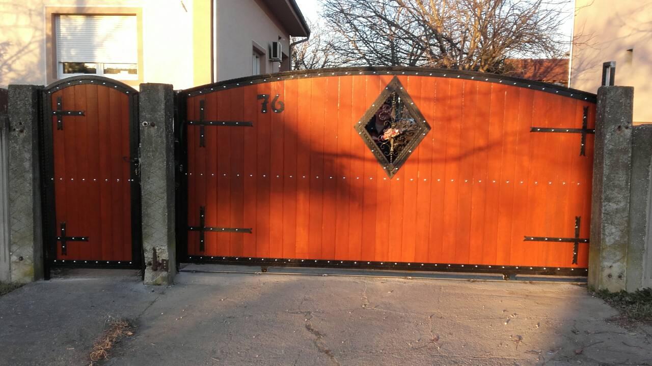 Izrada kapije za dvorište