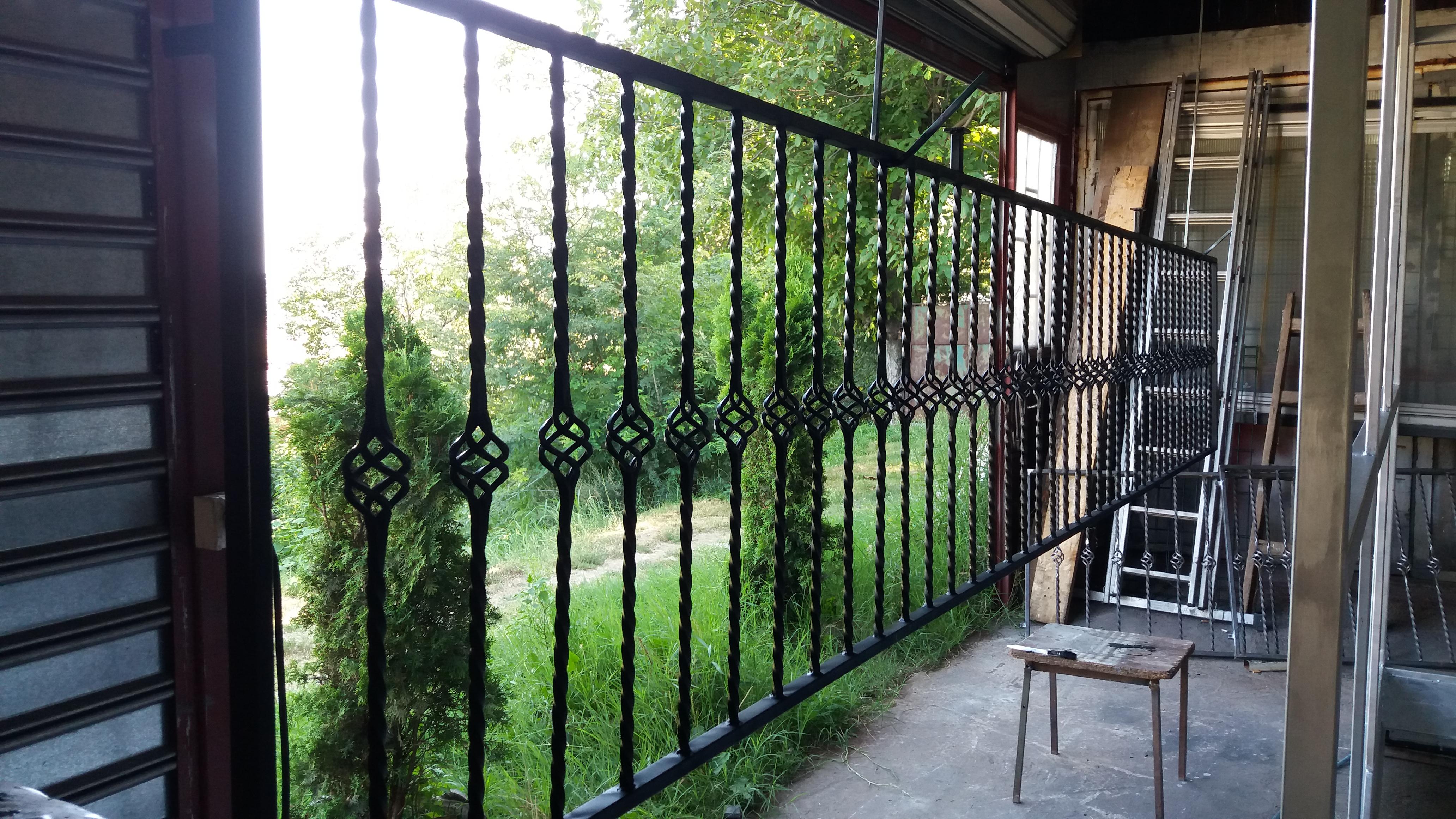 Kovana ograda za dvorište