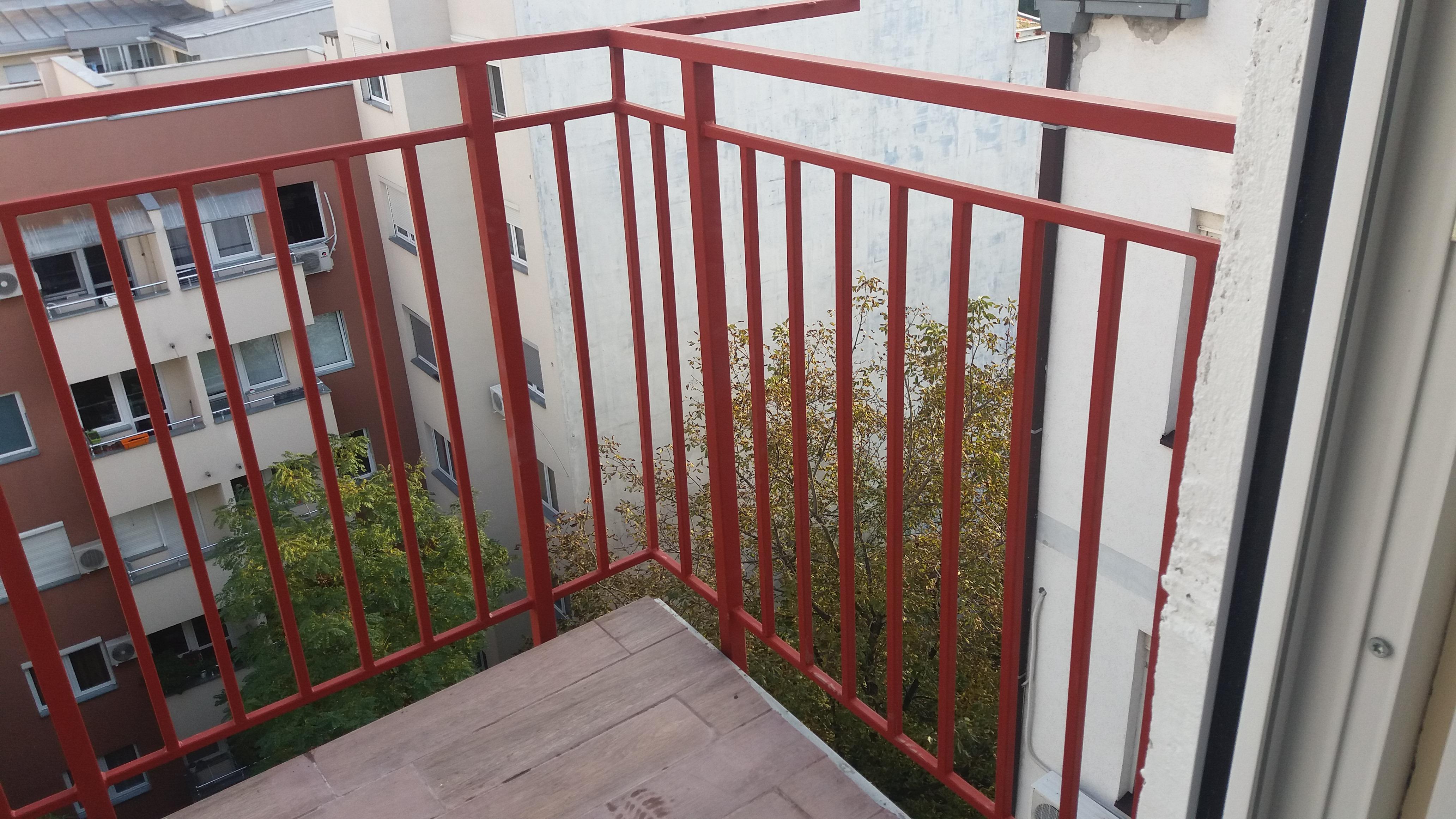 Metalne ograde za terasu