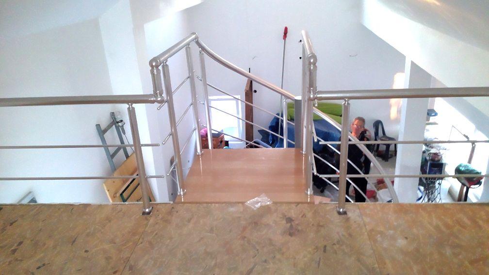 Aluminijumski gelender za spiralne stepenice