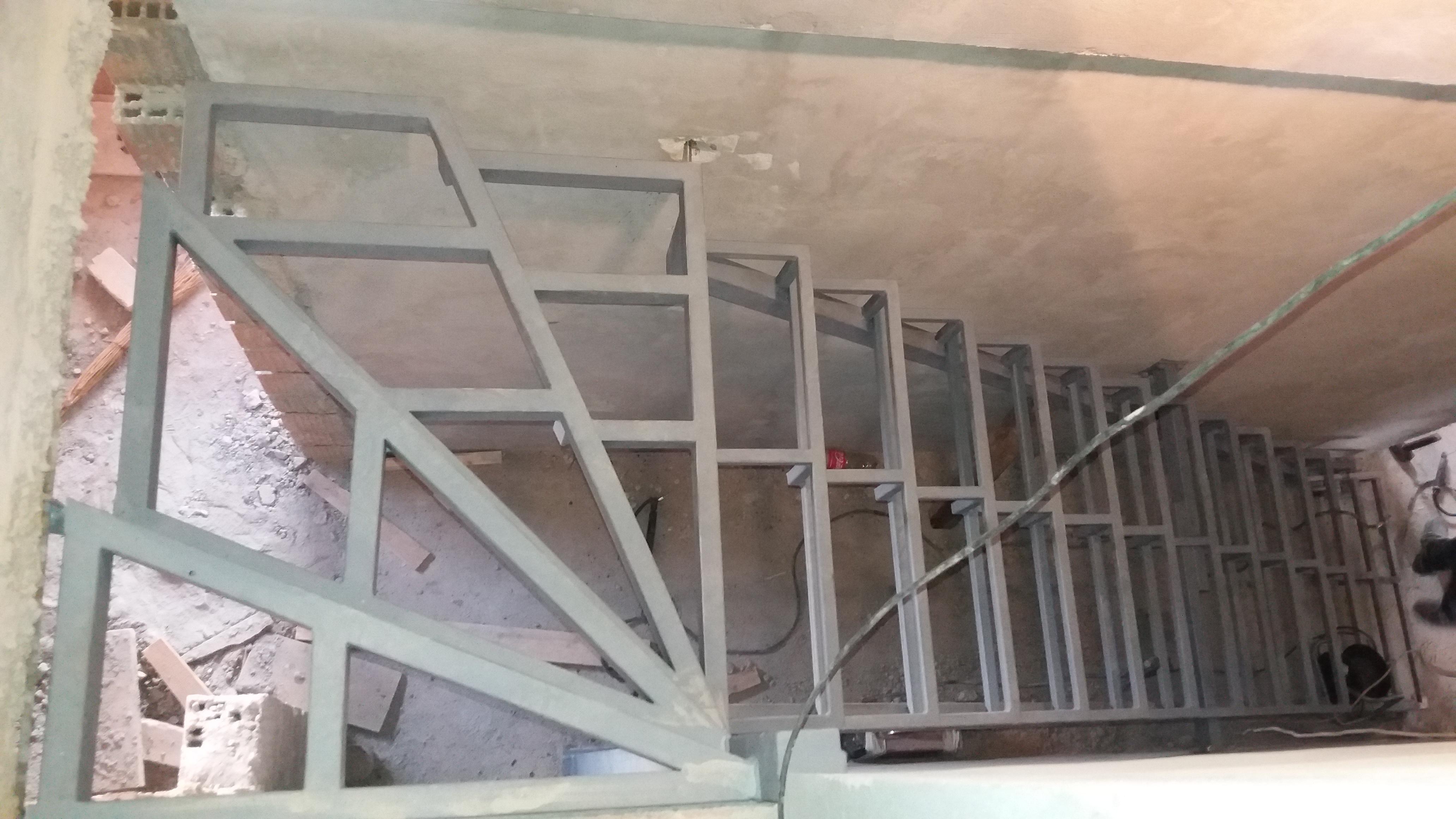 Izrada čelične konstrukcije za stepenice 1