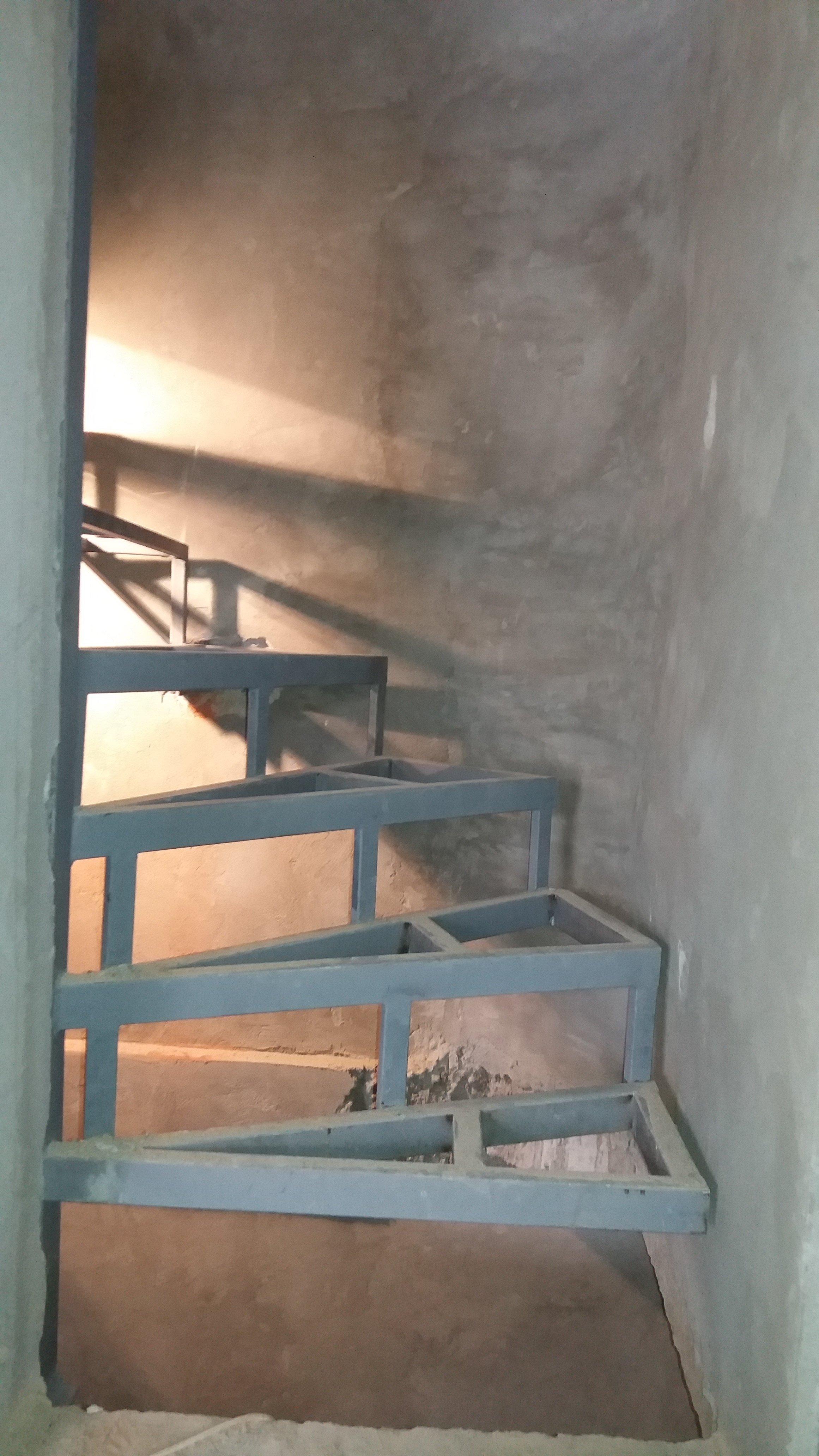 Izrada čelične konstrukcije za stepenice 3