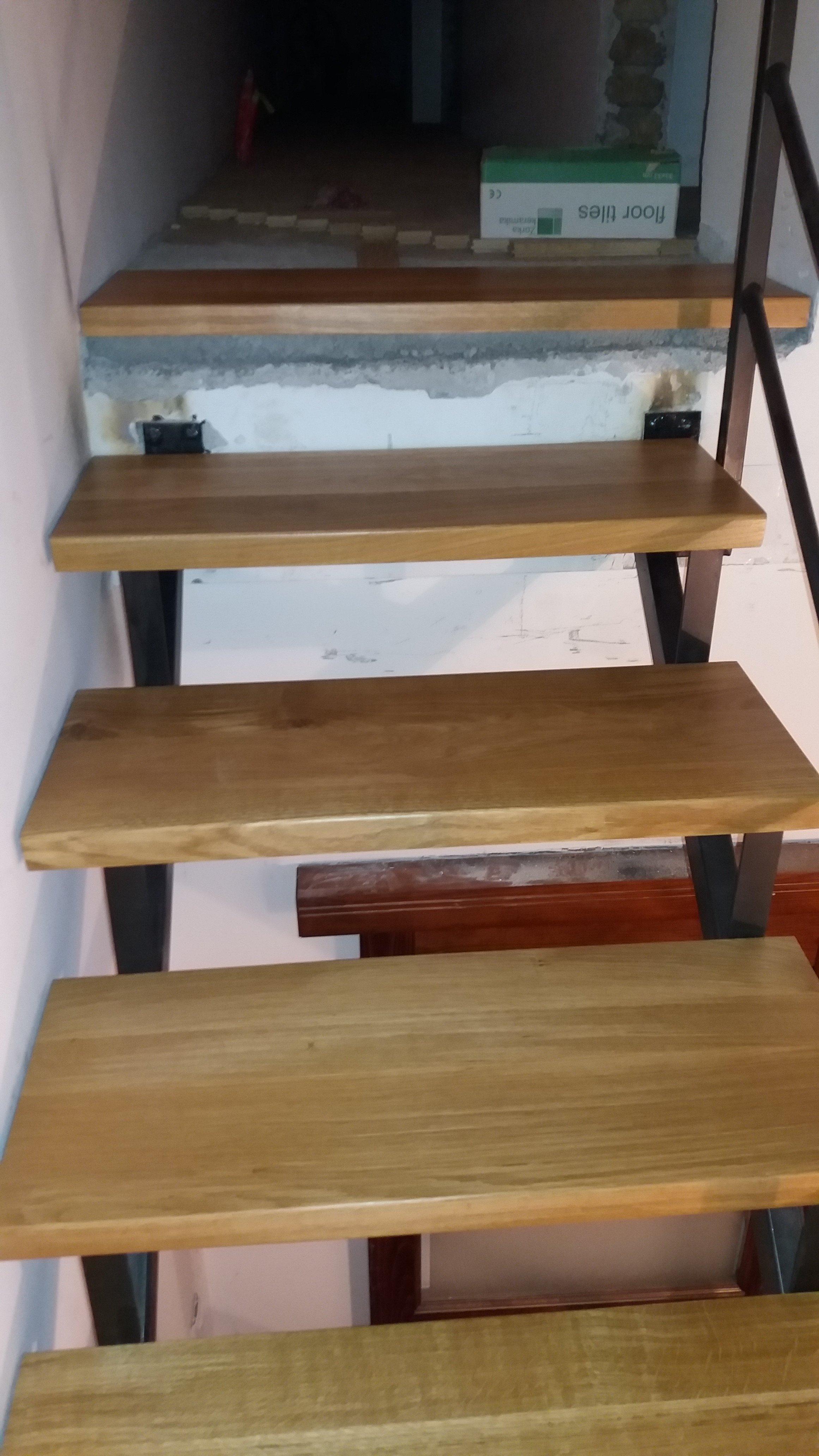 Izrada Hrastovih gazišta za stepenice