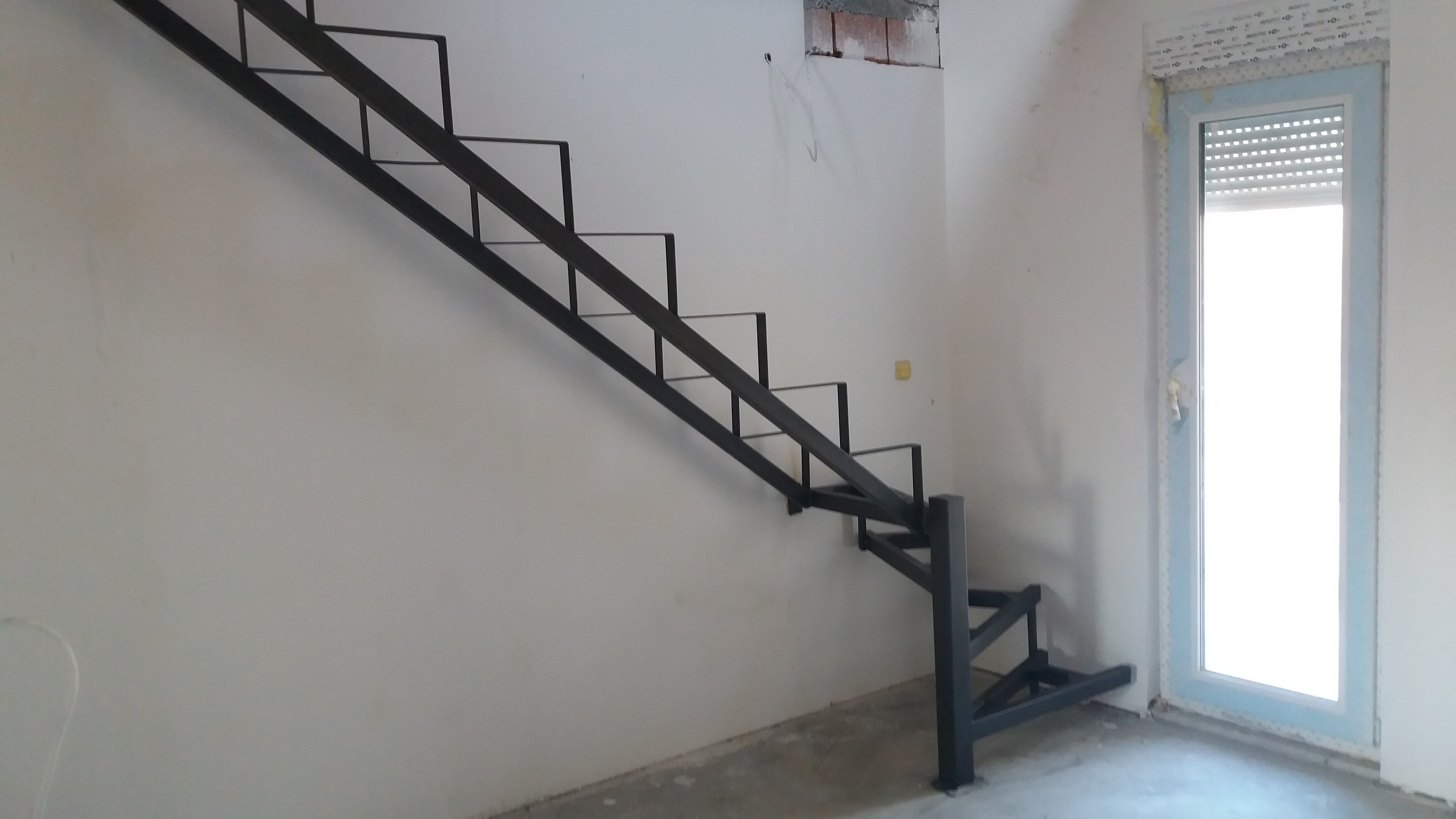 Izrada metalne konstukcije za stepenice