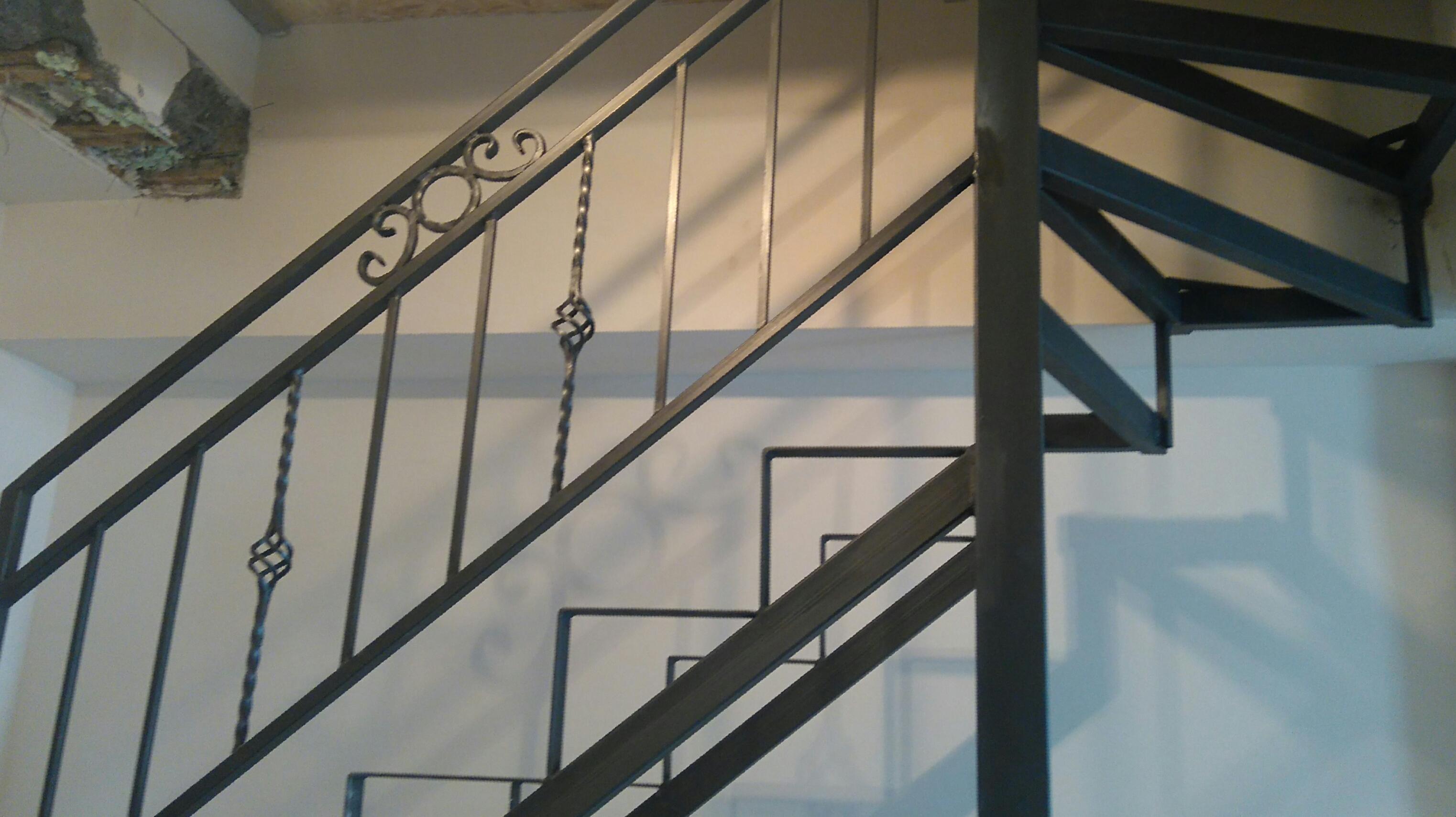 Metalna konstrukcija za stepenice