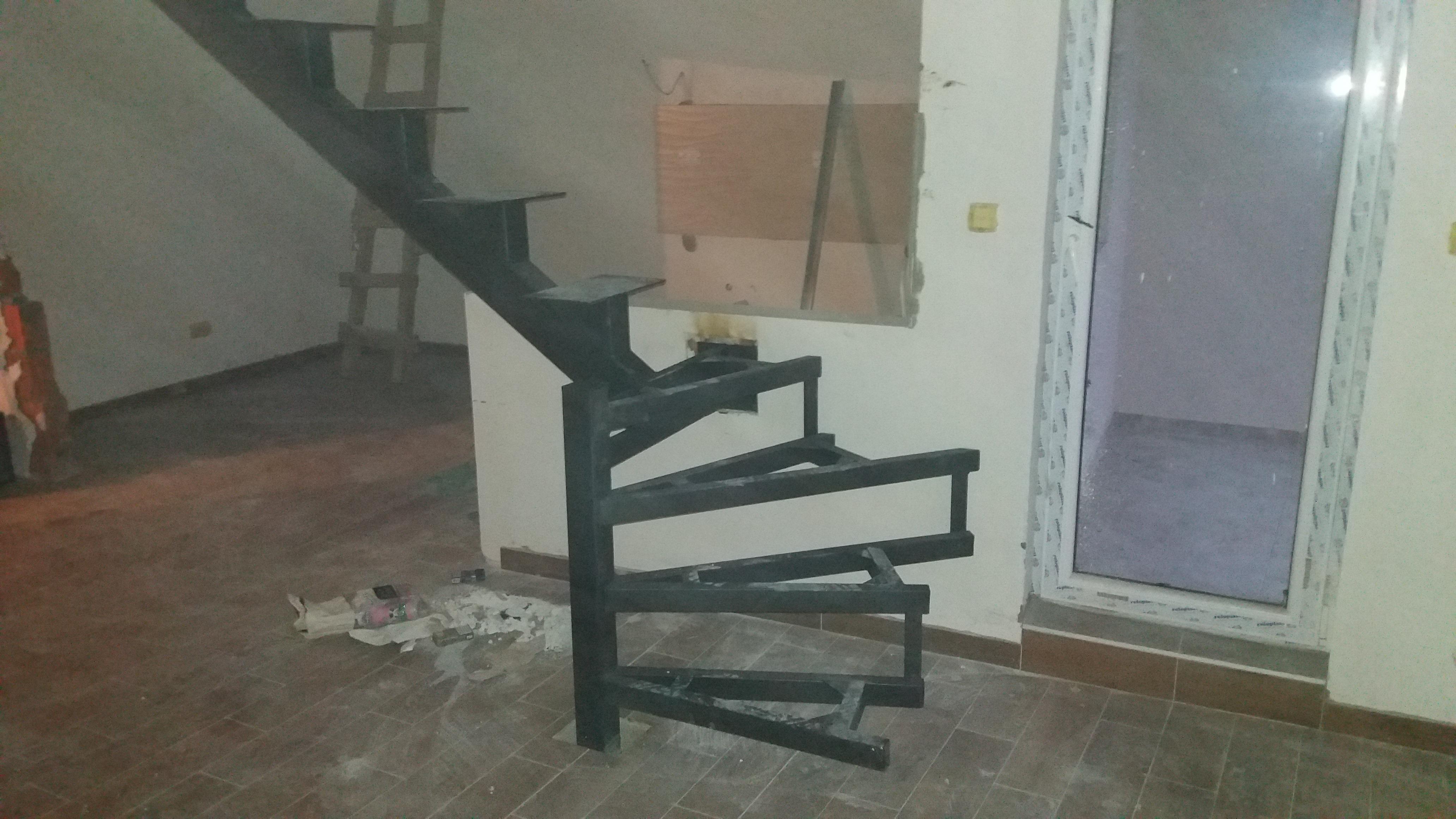 Metalne stepenice Beograd
