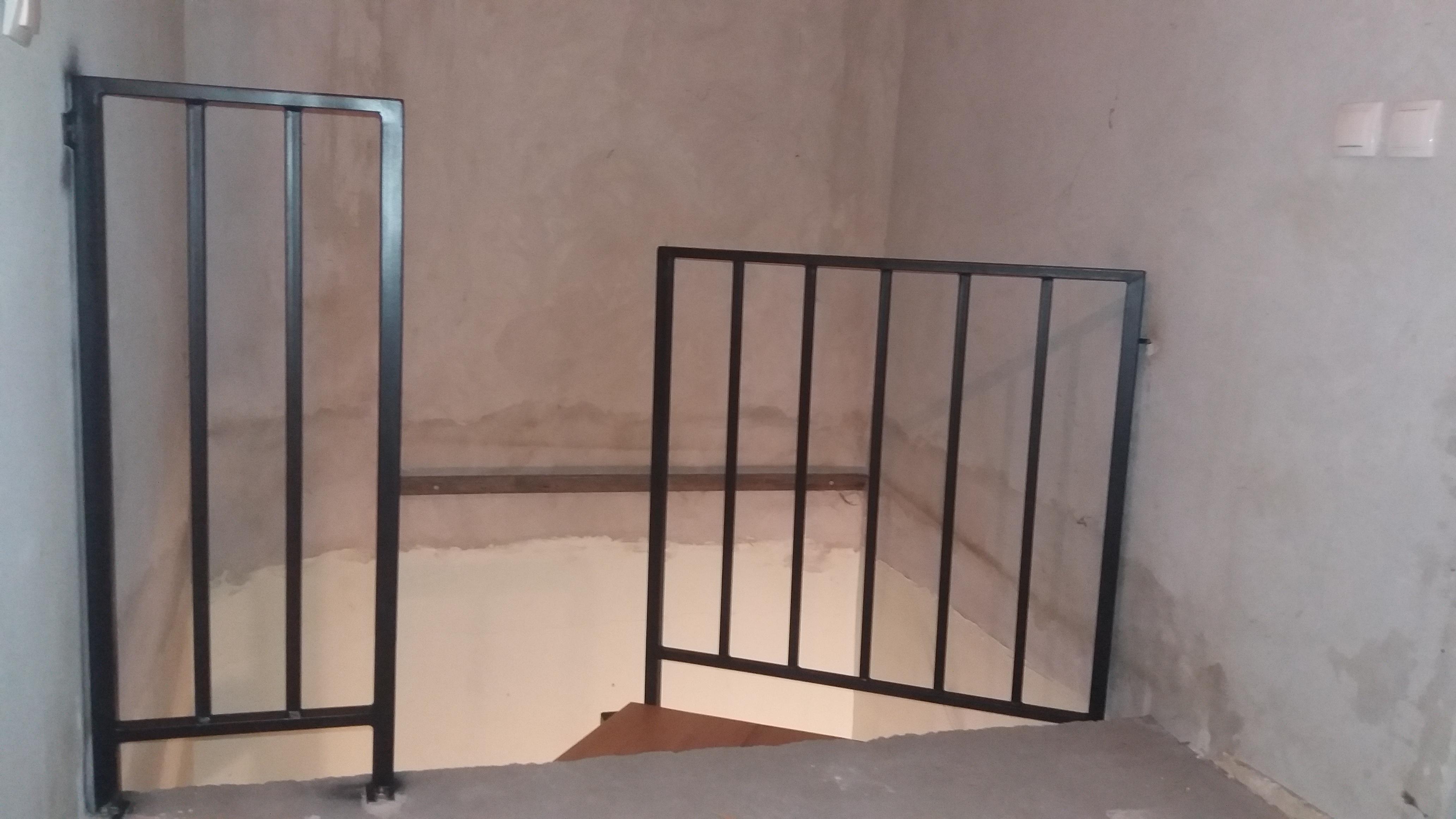 Metalni gelenderi i ograde za stepenice Novi Sad