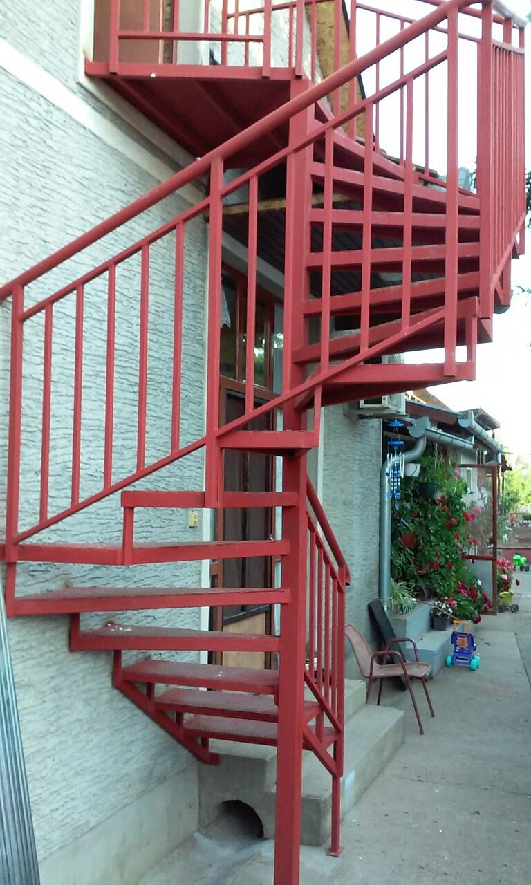 Spiralne stepenice Mirijevo