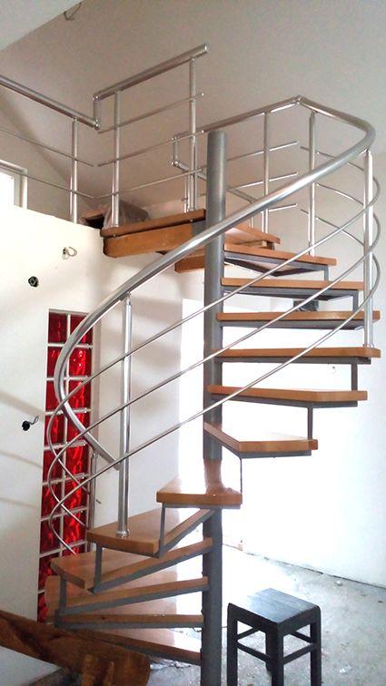Spiralne stepenice Alufence Beograd