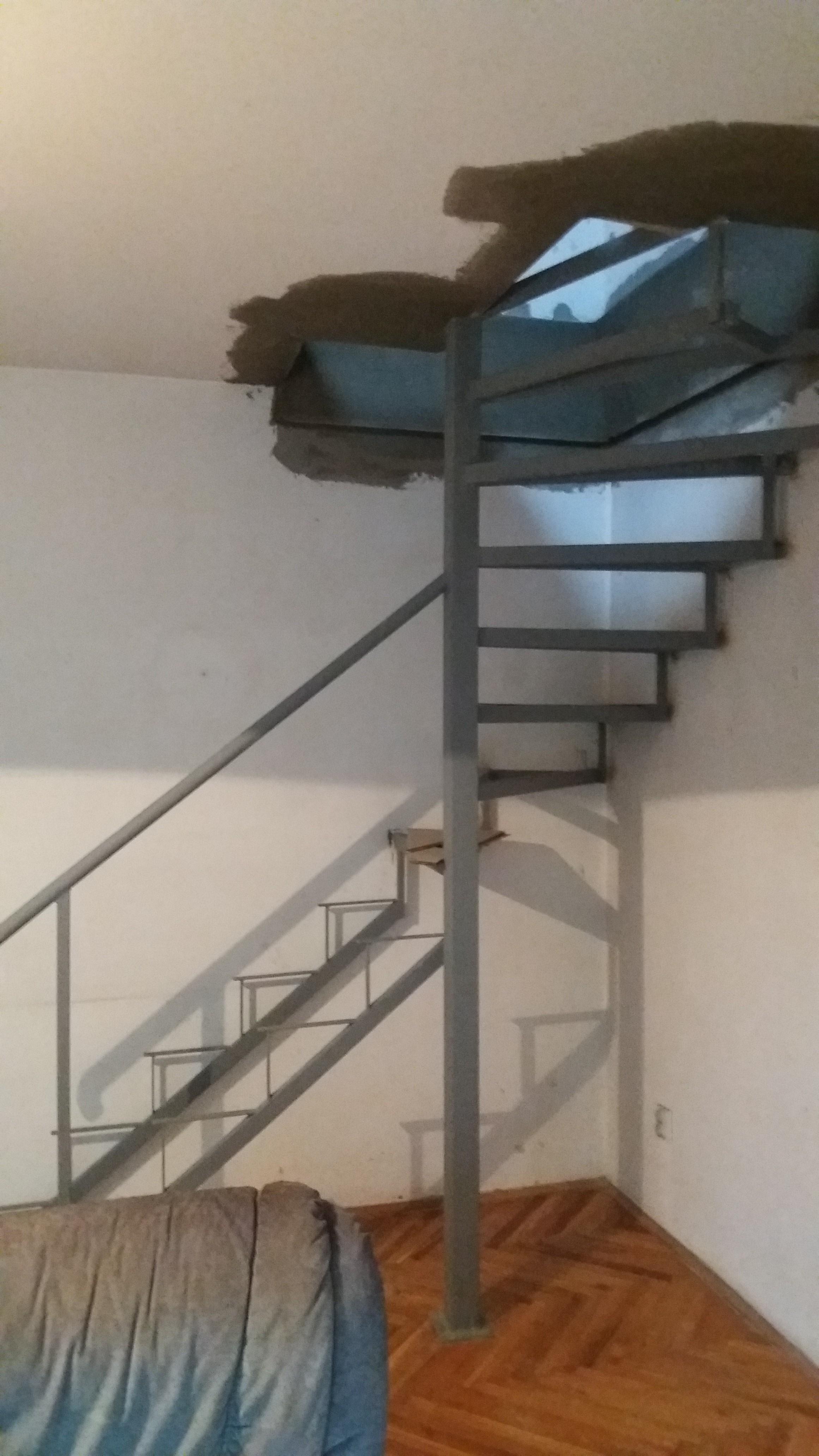 Spiralne stepenice Voždovac
