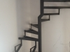 Izrada konstrukcije za kružne stepenice
