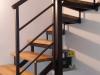 Metalno stepenište sa Hrastovim gazištima