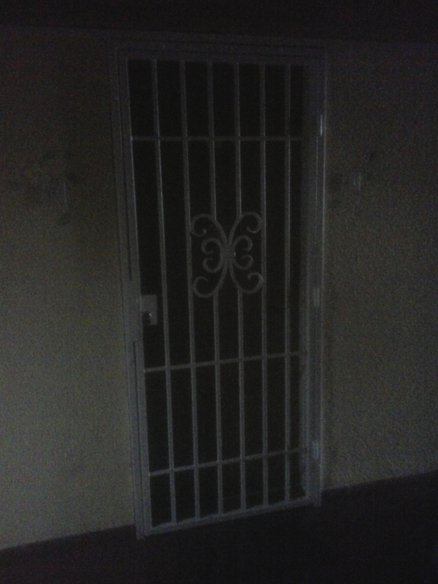 Rešetka na vratima