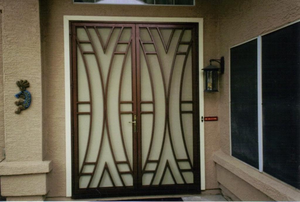 Rešetka za vrata
